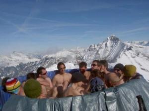 スイスの雪山で最高の贅沢