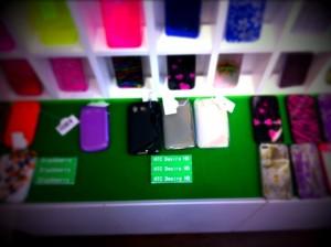 HTC Desire HDのケースも販売