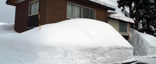 新潟の豪雪 画像25枚