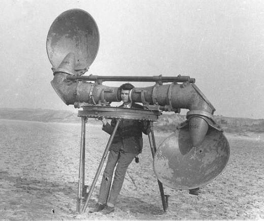 音響探知レーダー
