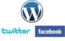 Wordpress Twitter Facebook 連動