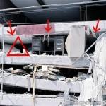 地震による建物崩壊時の生存空間、命の三角形 (8)
