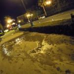 浦安市、ディズニランド周辺 液状化 (26)