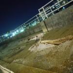 浦安市、ディズニランド周辺 液状化 (19)
