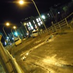 浦安市、ディズニランド周辺 液状化 (18)