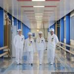 ロシアの原発、カリーニン原子力発電所の写真 (1)