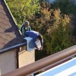 安全対策ゼロの危険過ぎる現場作業 (28)