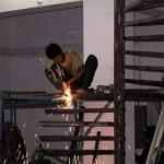 安全対策ゼロの危険過ぎる現場作業 (23)