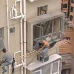 安全対策ゼロの危険過ぎる現場作業 (20)