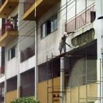 安全対策ゼロの危険過ぎる現場作業 (17)