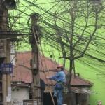 安全対策ゼロの危険過ぎる現場作業 (1)