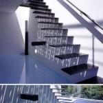 モダンな階段 おしゃれな階段 (16)