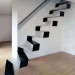 モダンな階段 おしゃれな階段 (15)