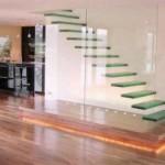 モダンな階段 おしゃれな階段 (6)