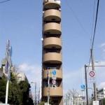 日本のスリムな建物 (25)