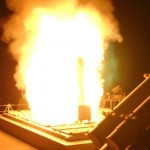 トマホークミサイル発射 の写真 (7)