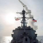トマホークミサイル発射 の写真 (4)