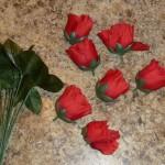 バラの花を、食べられる花に (14)