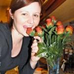 バラの花を、食べられる花に (2)