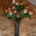 バラの花を、食べられる花に (1)