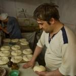 ウズベキスタンのパンができるまでの写真 (17)