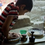 ウズベキスタンのパンができるまでの写真 (16)