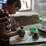 ウズベキスタンのパンができるまでの写真 (15)