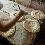 ウズベキスタンのパンができるまでの写真 (13)