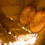 ウズベキスタンのパンができるまでの写真 (9)