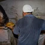 ウズベキスタンのパンができるまでの写真 (4)