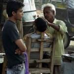 インドの床屋さん (5)