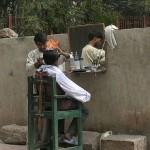 インドの床屋さん (4)
