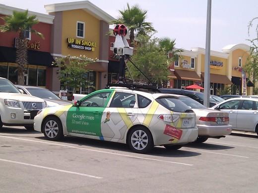 Google Map ストリートビュー撮影車(インプレッサ)