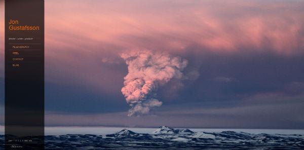 Jon Gustafsson氏撮影のアイスランド火山の噴火 1080p HD動画