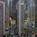 香港の高層集合住宅の写真 (1)