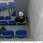 設計に問題のあったスタジアムの観客席 (13)