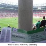 設計に問題のあったスタジアムの観客席 (1)