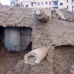 中国のマンション、雨で倒れる! (4)