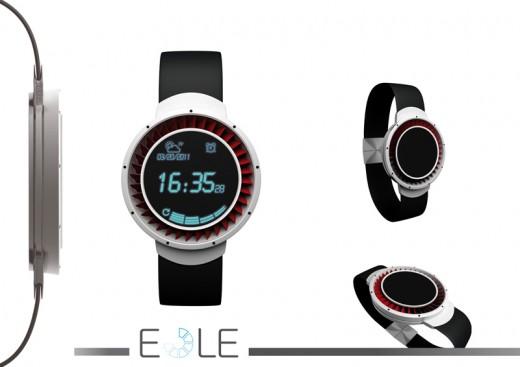 風力発電腕時計 EOLE