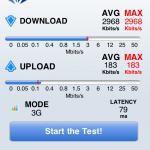 ソフトバンクのiPhone 4S 通信速度 (5)