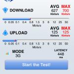 ソフトバンクのiPhone 4S 通信速度 (4)