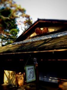 京都 瓢亭 別館 うずら粥 (5)