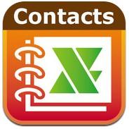 iPhoneのアドレス帳をエクセルで管理できるアプリ