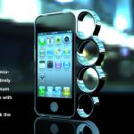 iPhone 4S (iPhone 4) ナックル型ケース (1)