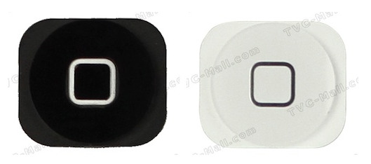 iPhone 5 ホームボタン リーク