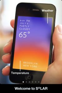 iPhoneのシンプルでクールな天気予報アプリ solar (10)