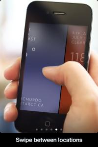 iPhoneのシンプルでクールな天気予報アプリ solar (6)