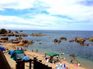 夏の海 お盆休み