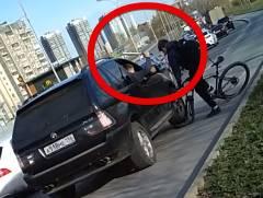 BMW vs. 自転車乗り