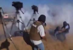 ジャーナリストがドローンから攻撃を受ける